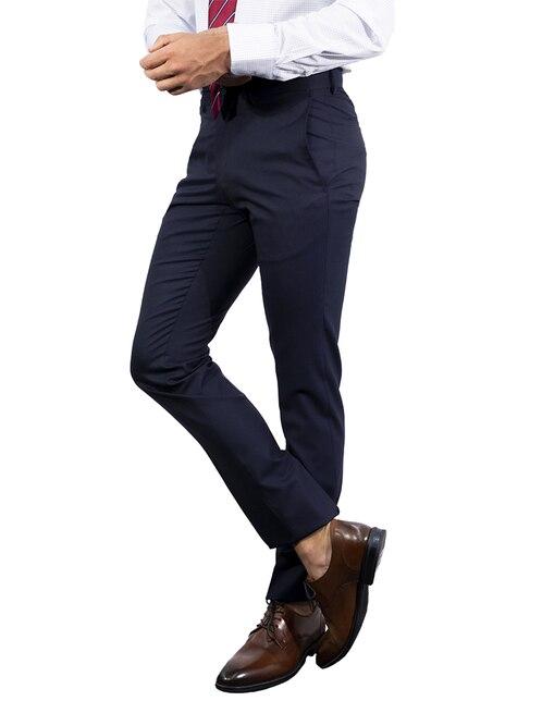 05284456bb2e2 Pantalón de vestir Tommy Hilfiger corte slim fit lana
